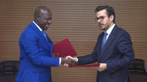 TRTden Gambiyaya destek