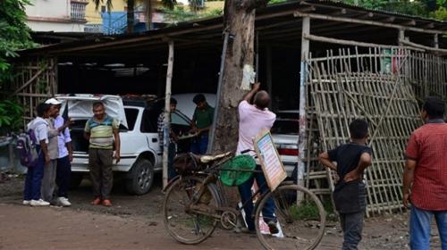 Bangladeşli adam ağaçları kurtarmak için sokak sokak geziyor