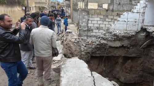 Rasulaynda teröristler kazdıkları tünellerin altında kaldı