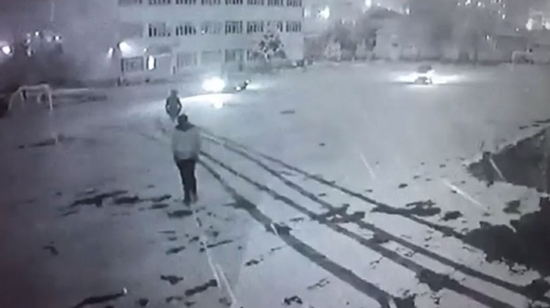 Okul bahçesinde drift yapan sürücüye 5 bin 10 lira ceza