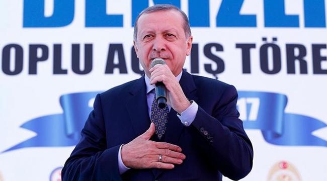 Cumhurbaşkanı Erdoğan 135 eserin açılışını yapacak