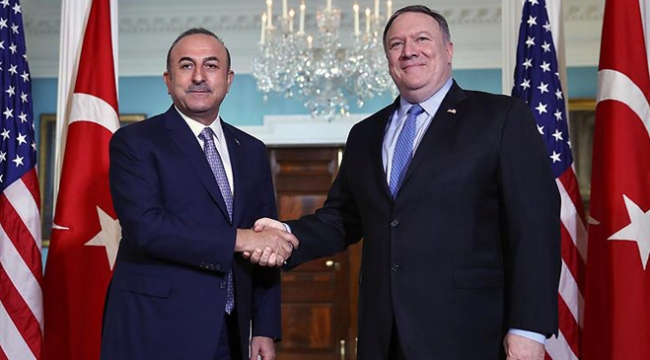 Dışişleri Bakanı Çavuşoğlu ABDli mevkidaşı Pompeo ile görüştü