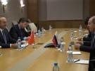 Dışişleri Bakanı Çavuşoğlu Rus mevkidaşı Lavrov'la bir araya geldi