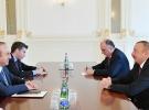 Bakan Çavuşoğlu Azerbaycan Cumhurbaşkanı Aliyev ile görüştü