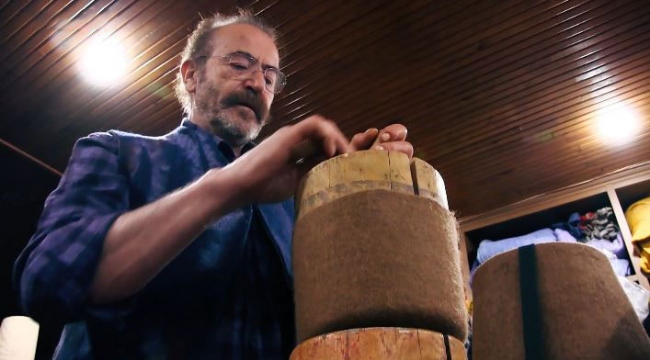 Konyada 52 yıldır keçecilik yapan Mehmet usta