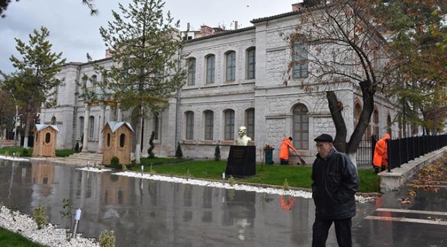 Askerlik şubesi olarak hizmet veren tarihi bina eski görkemine kavuştu