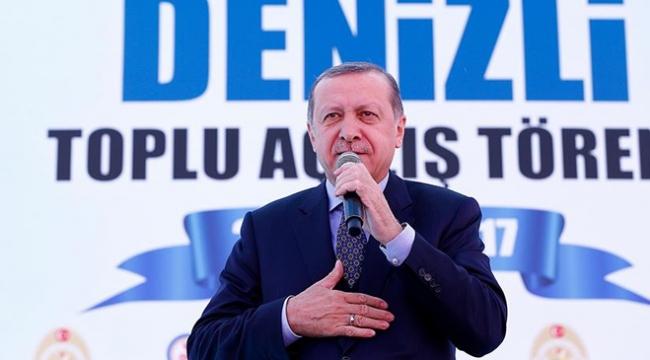 Cumhurbaşkanı Erdoğan Denizlide 275 projeyi hizmete açacak