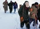 Dağda mahsur kalan vatandaşları jandarma kurtardı