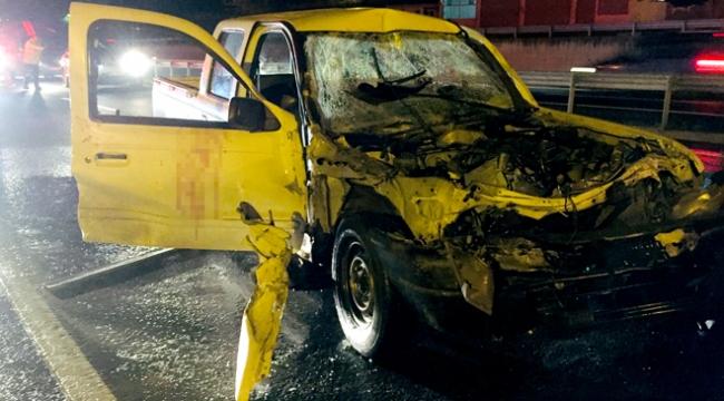 Silivride trafik kazası: 5 yaralı