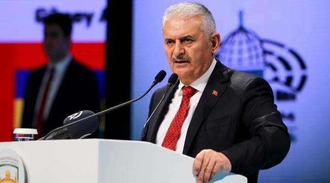 TBMM Başkanı Yıldırım: Filistinliler gelecekleri için artık tek ses olmalıdır