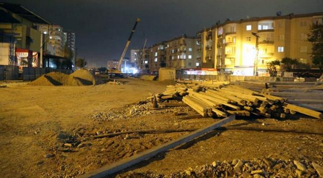 Mersinde ana boru delinince kentin doğal gazı kesildi