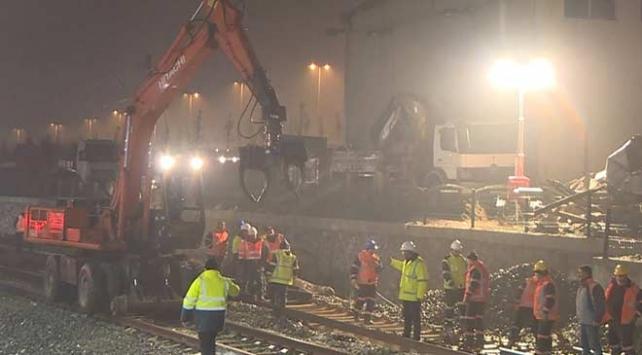 Ankara'daki Yüksek Hızlı Tren kazasının enkaz kaldırma çalışmaları tamamlandı