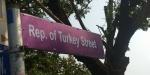 """Ganadaki """"Türkiye Cumhuriyeti Caddesi"""" törenle açıldı"""