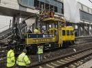 YHT kazasının yaşandığı hatta onarımlar devam ediyor
