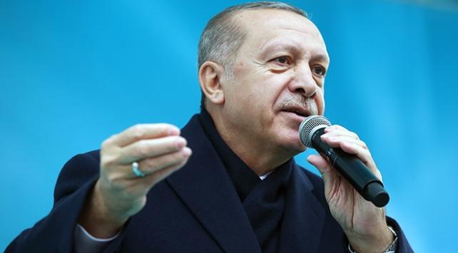Cumhurbaşkanı Erdoğan: Kazdıkları çukurları onlara mezar edeceğiz