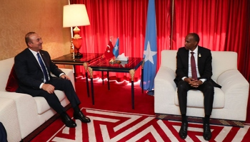 Dışişleri Bakanı Çavuşoğlundan Dohada diplomasi trafiği