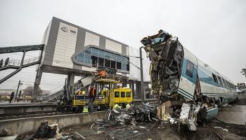 Ankaradaki tren kazasıyla ilgili incelemeler çok yönlü sürüyor