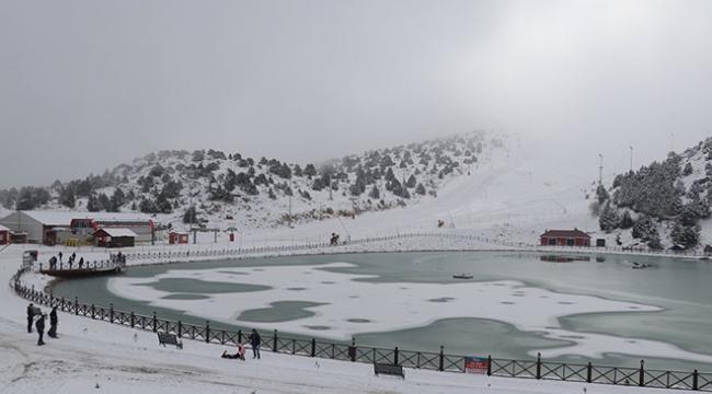 Erzincan Ergan Dağında kayak sezonu başladı