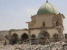 Musul'da DEAŞ'ın yıktığı tarihi caminin yeniden inşasına başlandı