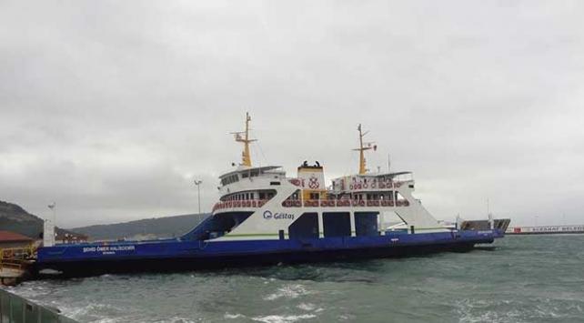 Kuzey Egede feribot seferlerine fırtına engeli