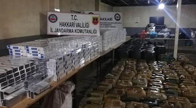 Hakkaride terör örgütü PKKnın finans kaynağına darbe