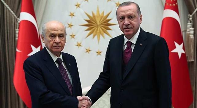 Bahçeli: Cumhurbaşkanı Erdoğan ile görüşme sağlam bir zeminde gelişmiştir