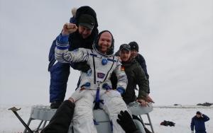 Soyuz MS 09 Dünyaya döndü