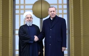 İran Cumhurbaşkanı Hasan Ruhani Türkiyede