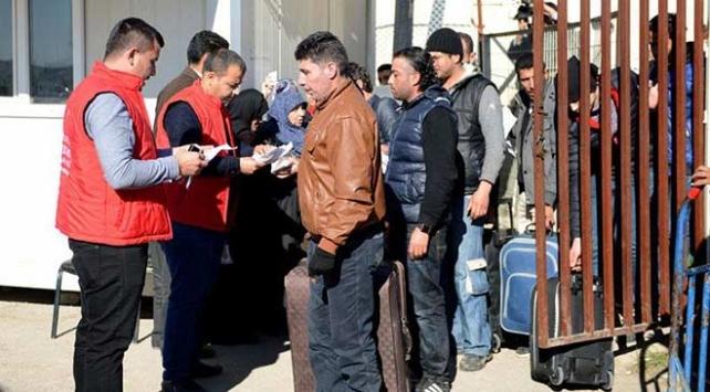 Ülkesine dönen Suriyeli sayısı 291 bin 790a ulaştı