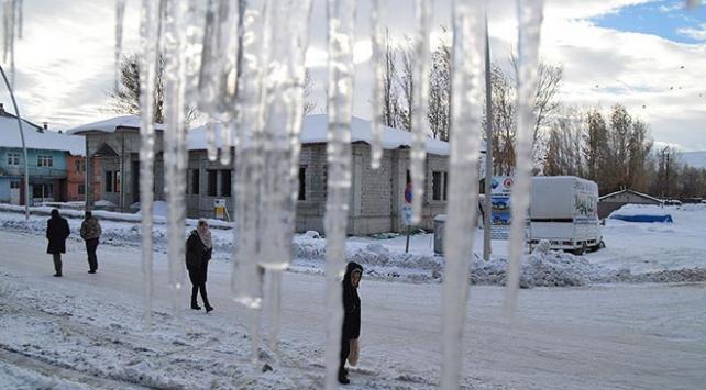 Doğu Anadoluda buzlanma ve don uyarısı