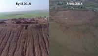 YPG/PKK hendekleri gizlemeye çalışıyor