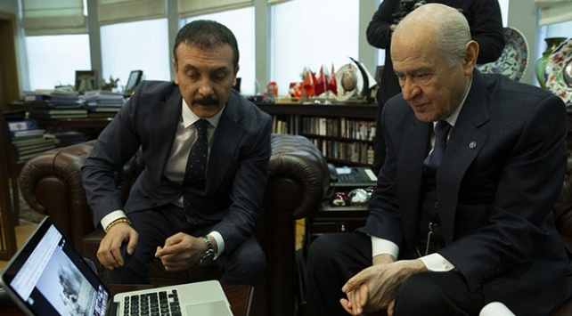 """MHP Genel Başkanı Bahçeli, AAnın """"Yılın Fotoğrafları"""" oylamasına katıldı"""