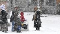 Bursa'da okullara kar tatili