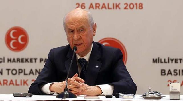 Bahçeli: AK Parti ile 30 büyükşehir üzerinden anlaşma sağlandı