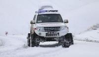 Ankara'da paletli ambulanslar acil hastalar için göreve hazır