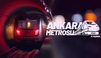 "Milyonlarca yolcunun tercihi ""Ankara Metrosu"" 21 yaşında"