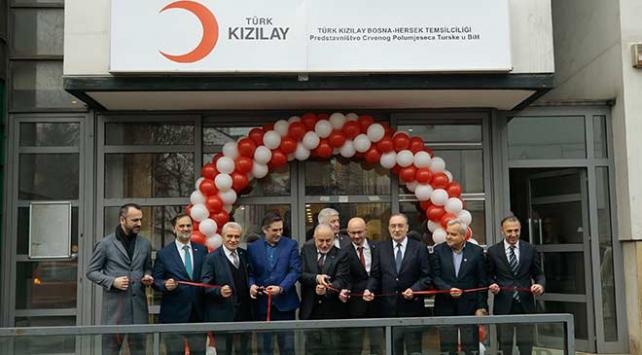 Türk Kızılayı Bosna Hersekte daimi temsilcilik açtı