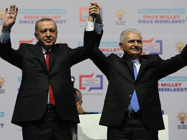 AK Partinin İstanbul adayı Binali Yıldırım