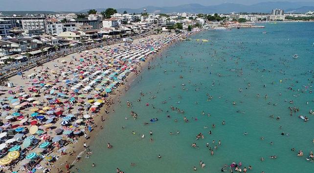 Antalyaya gelen yabancı turistte tüm zamanların rekoru