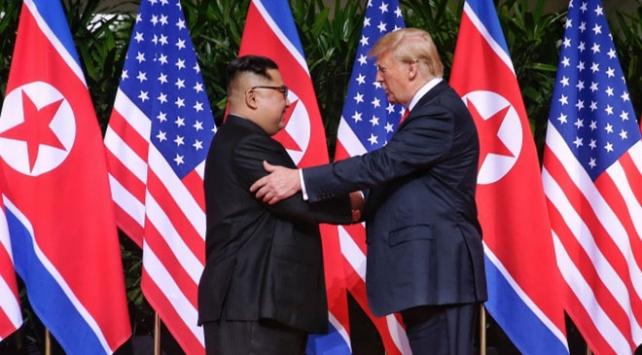 Kuzey Kore lideri Kim Jong-undan Trump mesajı