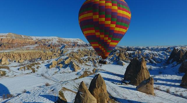 Yarıyıl tatilinin gözde rotaları: Kapadokya, Erciyes ve Kozaklı