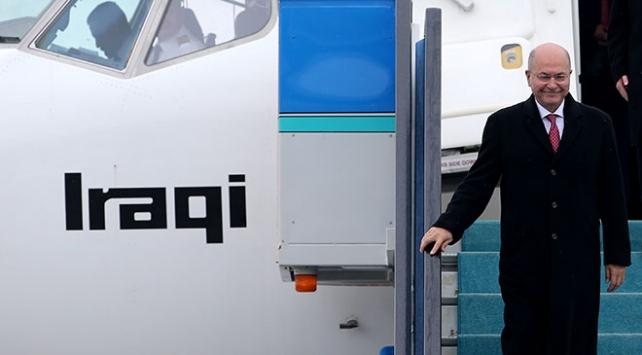 Irak Cumhurbaşkanı Salih Ankarada