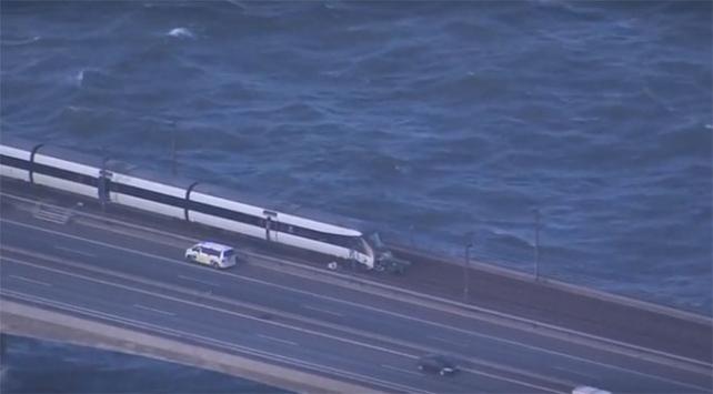 Danimarkada tren kazasında ölü sayısı 8e çıktı