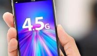 4,5G abone sayısı 3G'lileri 8'e katladı