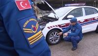 Jandarma personeli güvenli ve ileri sürüş eğitimi alıyor