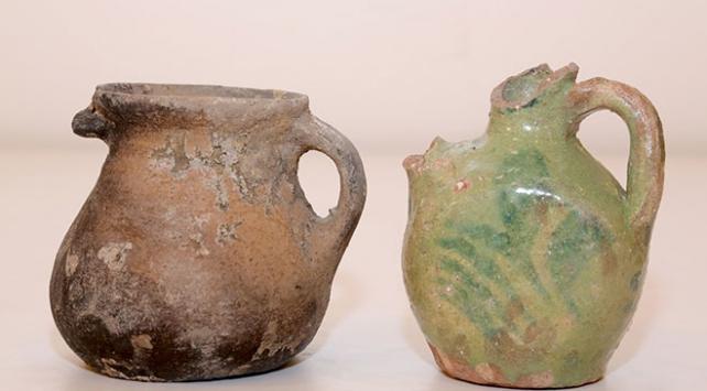 Bayburt Kalesinde Roma ve Osmanlı dönemine ait eserler bulundu