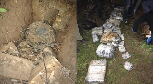 Mardinde 191 kilogram patlayıcı ele geçirildi