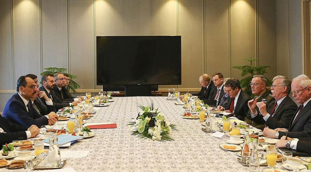 Türk ve ABD heyetleri bir araya geldi
