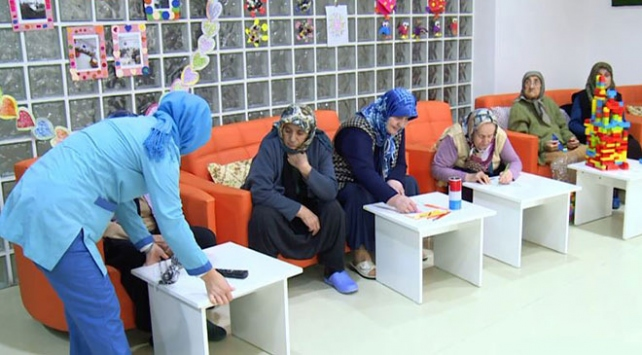 Konyada alzheimer hastalarına özel hizmet