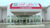 El Bab Hastanesi günde 850 Suriyeliye hizmet veriyor